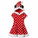 Disney Girl's Dress - Minnie Mouse Santa Holiday Costume - Yuletide Farmhouse