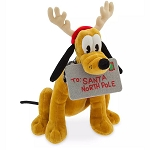 Disney Plush - Reindeer Pluto - Letter to Santa - Yuletide Farmhouse Collection