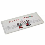 Disney Rectangular Platter - Mickey & Minnie Mouse Holiday - Yuletide Farmhouse