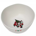 Disney Serving Bowl - Mickey & Minnie Mouse Holiday - Yuletide Farmhouse