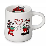 Disney Mug - Mickey & Minnie Holiday - Yuletide Farmhouse