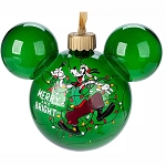 Disney Light-Up Glass Ball Ornament - Goofy Merry & Bright - Yuletide Farmhouse