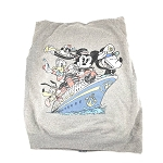 Disney Adult Sweatjacket - Fab 5 - Disney Cruise Line