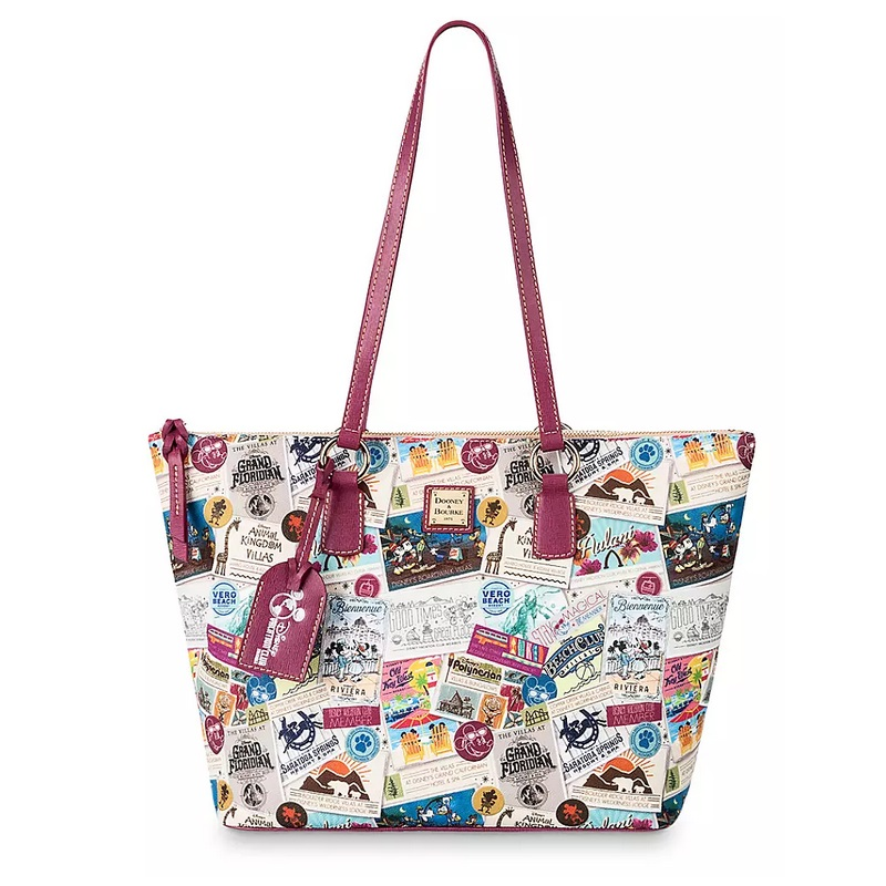 Disney Dooney & Bourke Zip Tote Bag - Disney Vacation Club