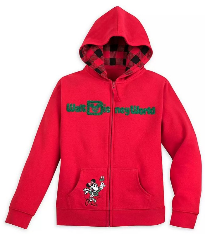 Disney Girls Hoodie - Mickey Mouse & Friends Holiday - Walt Disney World