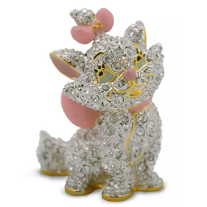 Disney Arribas Jeweled Figurine - Marie - Aristocats