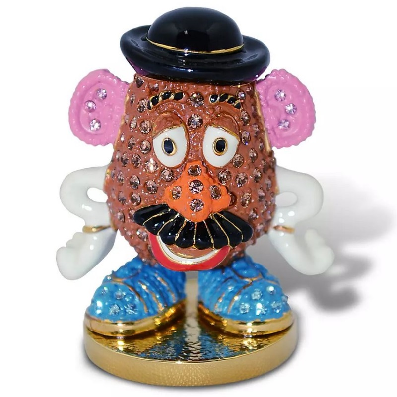 Disney Arribas Jeweled Figurine Mr Potato Head Toy Story
