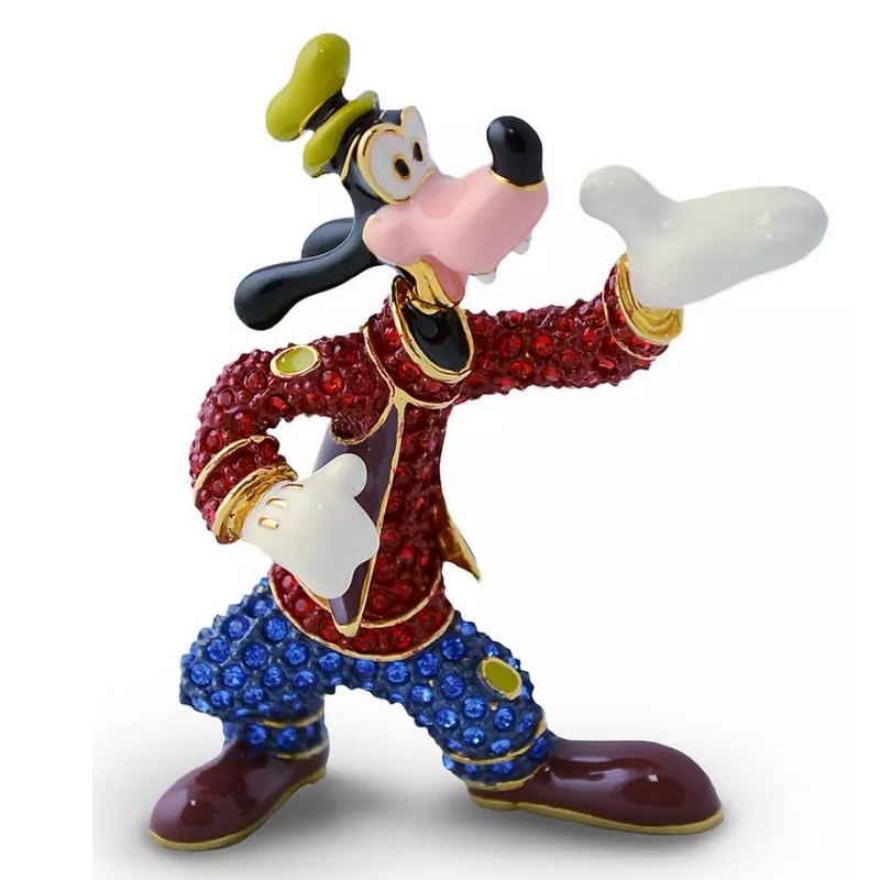 Disney Arribas Jeweled Figurine - Goofy Bellhop