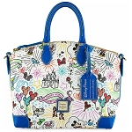 Disney Dooney & Bourke Satchel Bag - Sketch 10th Anniversary - Blue Trim