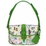 Disney Dooney & Bourke Crossbody Bag - Sketch 10th Anniversary - Green Trim