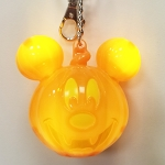 Disney Keychain Keyring - Pumpkin Mickey Mouse - Light Up