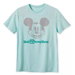 Disney Adult Shirt - Mickey Mouse - Arendelle Aqua