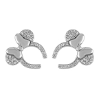 Disney Rebecca Hook Earrings - Minnie Mouse Headband - Silver