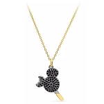 Disney Crislu Necklace - Mickey Mouse Ice Cream Bar