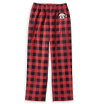 Disney Boys Pajama Pants - Santa Mickey Mouse Holiday Plaid - Yuletide Farmhouse