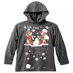 Disney Boys Pullover Hoodie - Chip and Dale - On The Naughty List