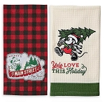 Disney Kitchen Towel Set - Mickey Mouse Holiday - Yuletide Farmhouse