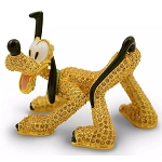 Disney Arribas Jeweled Figurine - Pluto - Limited Edition