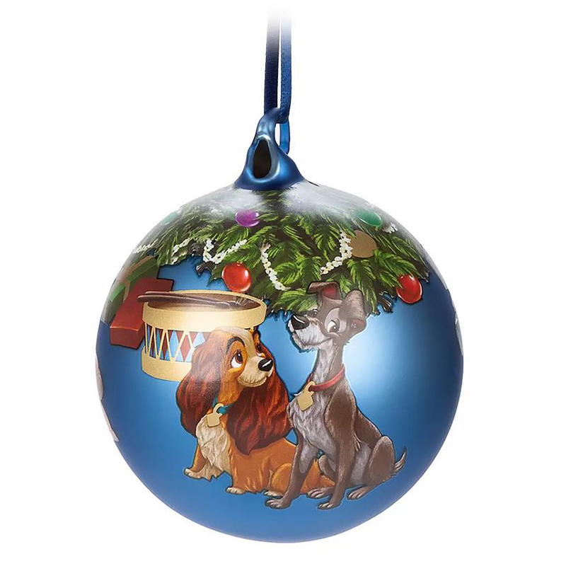 Disney Ornament - Lady & the Tramp - 2019 Artist Series by Alex Maher – Limited Release