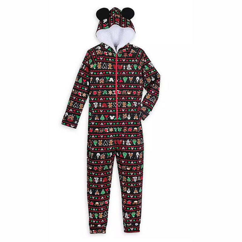 Disney Mens Bodysuit - Mickey Mouse Holiday Park Foods
