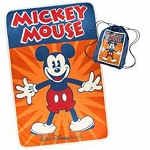 Disney Cinch Bag w/ Throw - Mickey Mouse - Walt Disney World