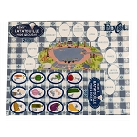 Disney Map & Stickers Set - Remy's Ratatouille Hide & Squeak - 2015