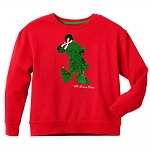 Disney Women's Pullover - Minnie Mouse Holiday Reversible Sequin