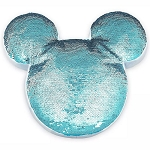 Disney Plush Pillow - Mickey Mouse Icon Reversible Sequin - Arendelle Aqua