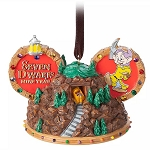 Disney Ornament - Seven Dwarfs Mine Train Ear Hat