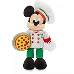 Disney Plush - Epcot World Showcase ITALY - Mickey Mouse Chef - 15''