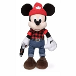 Disney Plush - Epcot World Showcase CANADA - Mickey Mouse Lumberjack - 13''