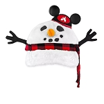 Disney Baseball Cap Hat - There's Snow Place Like Home - Plush Snowman - Light-Up