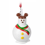Disney Ornament - Mickey Mouse Snowman Treat Apple