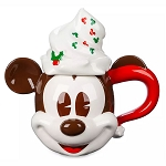 Disney Coffee Cup Mug w/ Lid - Mickey Mouse Whipped Cream