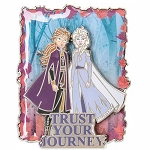 Disney Pin - Frozen 2 - Anna & Elsa - Trust Your Journey