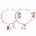 Disney Alex & Ani Bracelet Set - Up - Carl & Ellie + Adventure Book
