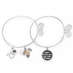 Disney Alex & Ani Bracelet Set - Wall-E & Eve - I Will Follow You To The Stars
