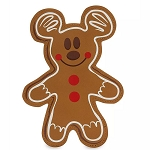 Disney Pouch - Mickey Mouse Gingerbread