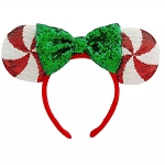 Disney Minnie Ear Headband - Peppermint Candy