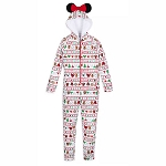 Disney Women's Bodysuit - Minnie Mouse Holiday Park Foods