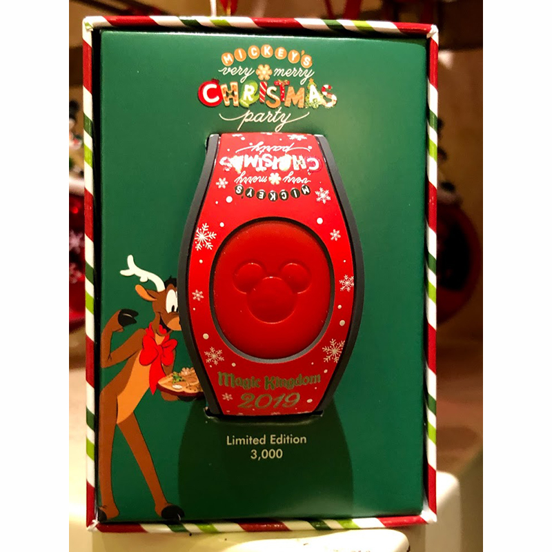 Disney MagicBand 2 Bracelet - Mickey's Very Merry Christmas Party 2019