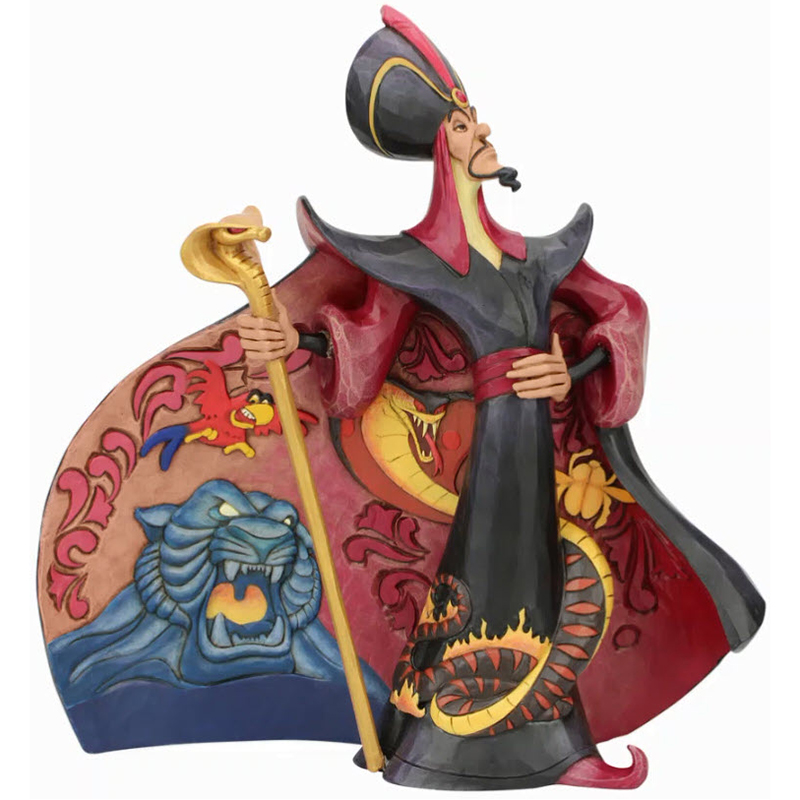 Disney Traditions Jim Shore Figure - Villainous Viper - Jafar from Aladdin