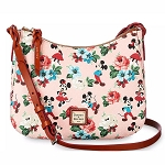 Disney Dooney & Bourke - Mickey & Minnie Mouse Floral - Crossbody