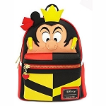 Disney Loungefly Bag - Queen of Hearts Cosplay - Mini Backpack