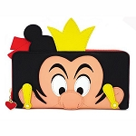 Disney Loungefly Bag - Queen of Hearts Cosplay - Zip Around Wallet