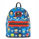 Loungefly X Mini Backpack - DC Comics Justice League