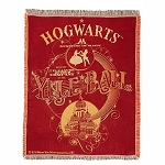 Universal Studios Woven Tapestry Throw - Hogwarts Yule Ball - Harry Potter