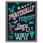 Disney Woven Tapestry Throw - Mary Poppins Returns