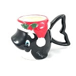 SeaWorld Coffee Cup Mug - Santa Shamu - Killer Whale