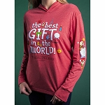 Disney Adult Hoodie Shirt - The Best Gift In The World - Festival of the Holidays 2019 Epcot